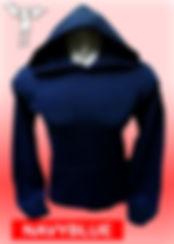 Digital Printing, Silkscreen Printing, Embroidery, Navy Blue Hoodie, Navy Blue Fleece Hoodie