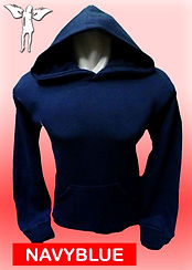 Digital Printing, Silkscreen Printing, Embroidery, Navy Blue Hoodie, Navy Blue Fleece Hoodie