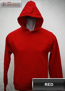 Red Hooded Sweater, sweater hoodie merah
