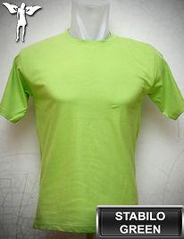 Stabilo Green T-Shirt, kaos hijau stabilo, stabilo green round neck t-shirt, stabilo green crew neck t-shirt