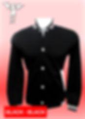 Digital Printing, Silkscreen Printing, Embroidery, Black Black Baseball Jacket, Black Black Fleece Varsity Jacket