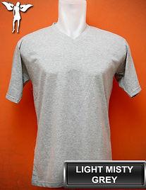 Light Misty Grey t-shirt, kaos abu misty muda