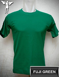 Fuji Green T-Shirt, kaos hijau fuji, fuji green round neck t-shirt, fuji green crew neck t-shirt