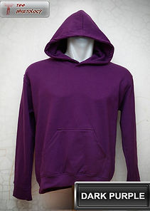 Dark Purple  Hooded Sweater, sweater hoodie ungu tua