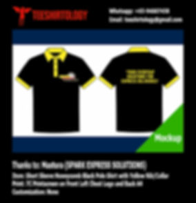 Black Honeycomb Polo Shirt Silkscreen Print