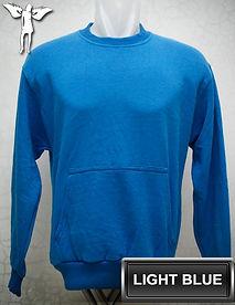 Light Blue Sweater, sweater biru muda