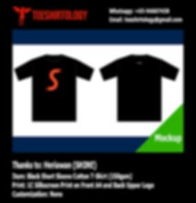 SHINE Label Cotton T-Shirt Silkscreen Printing