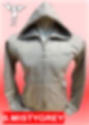 Digital Printing, Silkscreen Printing, Embroidery, Misty Grey Zipped Hoodie, Misty Grey Fleece Zipped Hoodie