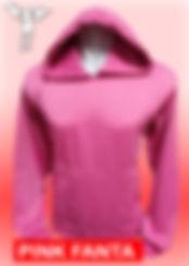 Digital Printing, Silkscreen Printing, Embroidery, Pink Fanta Hoodie, Pink Fanta Fleece Hoodie