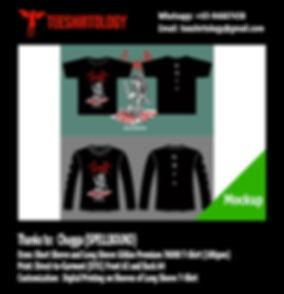 DTG and Digital Printing of Black Short and Long Sleeve Gildan Premium 76000 Shirt