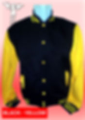 Digital Printing, Silkscreen Printing, Embroidery, Black Yellow Baseball Jacket, Black Yellow Fleece Varsity Jacket