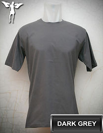 Dark Grey t-shirt, kaos abu gelap, dark grey round neck t-shirt, dark grey crew neck t-shirt