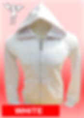 Digital Printing, Silkscreen Printing, Embroidery, White Zipped Hoodie, White Fleece Zipped Hoodie