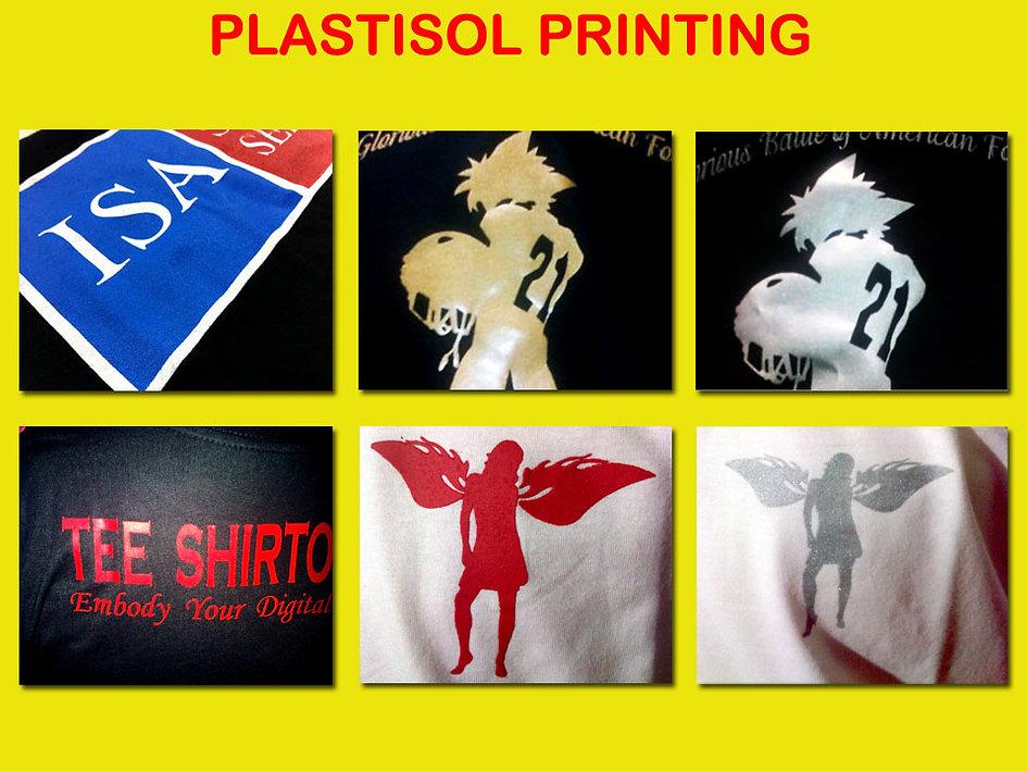 plastisol printing, sablon plastisol, plastisol silkscreen printing, t-shirt printing