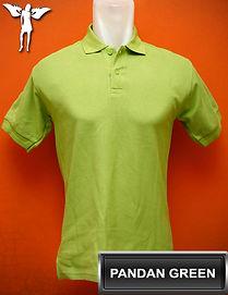 Pandan Green Polo Shirt, kaos polo hijau pandan