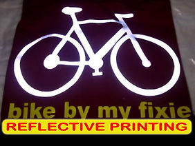 Reflective Printing, Sablon Reflective, silkscreen printing, manual print, t-shirt printing
