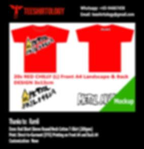 Metal Mulisha Red Cotton T-Shirt DTG Printing