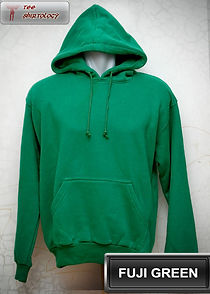Fuji Green Hooded Sweater, sweater hoodie hijau fuji