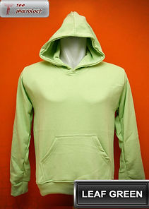 Leaf Green Hooded Sweater, sweater hoodie hijau pucuk