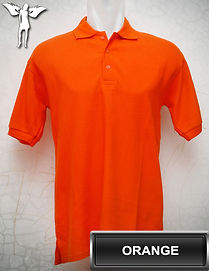 Orange Polo Shirt, kaos polo orange