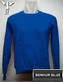 Benhur Blue Sweater, sweater biru benhur