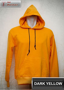 Dark Yellow Hooded Sweater, sweater hoodie kuning tua