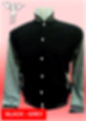 Digital Printing, Silkscreen Printing, Embroidery, Black Misty Grey Baseball Jacket, Black Misty Grey Fleece Varsity Jacket