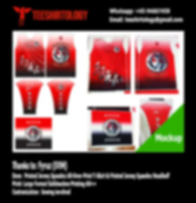 Spandex fabric printing for SYM All-Over-Print Long Sleeve Shirt