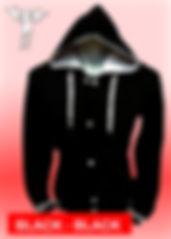 Digital Printing, Silkscreen Printing, Embroidery, Black Black Hooded Baseball Jacket, Black Black Fleece Hooded Varsity Jacket