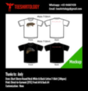 Reptile White and Black Cotton T-Shirt DTG Print