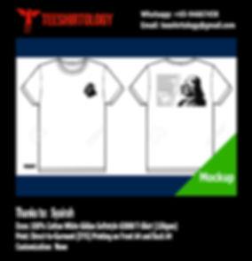 StarWars Darth Vader White Cotton Gildan Softstyle 63000 Shirt DTG Printing
