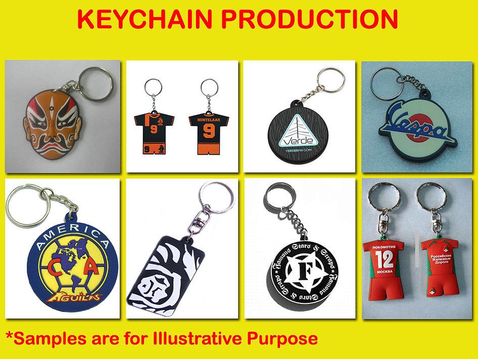 keychain, gantung kunci, embossed keychain, printed keychain