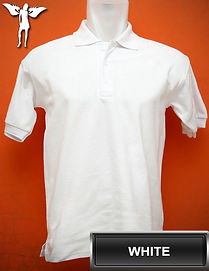 White Polo Shirt, kaos polo putih