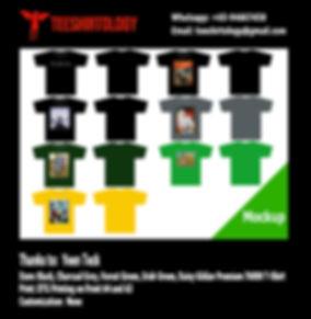 DTG Print of Gildan Premium Cotton Shirts