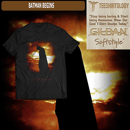 Batman Begins Movie T-Shirt#2