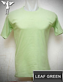 Leaf Green T-Shirt, kaos hijau pucuk, leaf green round neck t-shirt, leaf green crew neck t-shirt
