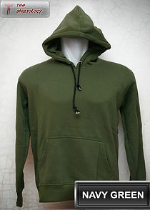 Navy Green Hooded Sweater, sweater hoodie hijau navy