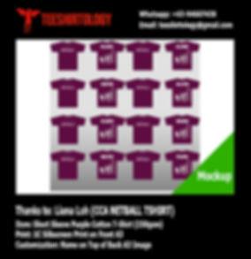 School CCA Netball Purple Eggplant Cotton Team T-Shirt Silkscreen Print with Custom Name