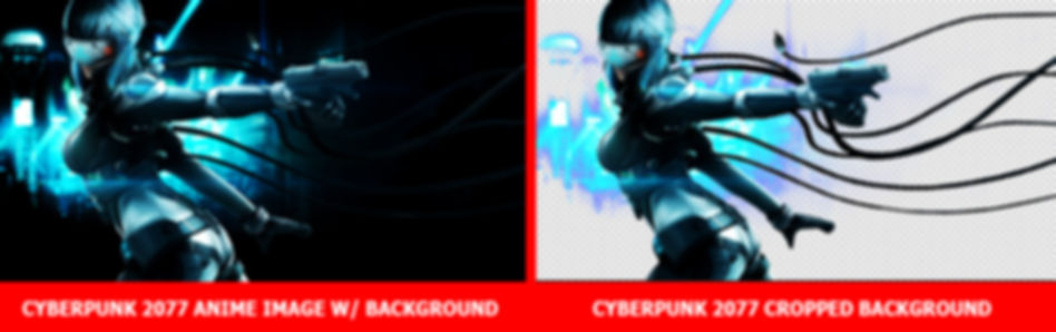 Image Edit Service - Background Crop of Cyberpunk 2077 Image