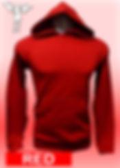 Digital Printing, Silkscreen Printing, Embroidery, Red Hoodie, Red Fleece Hoodie