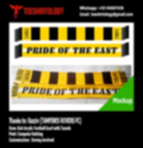 Tampines Rovers Football Scarf
