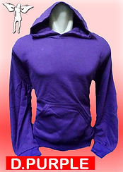 Digital Printing, Silkscreen Printing, Embroidery, Dark Purple Hoodie, Dark Purple Fleece Hoodie