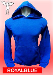 Digital Printing, Silkscreen Printing, Embroidery, Royal Blue Hoodie, Royal Blue Fleece Hoodie