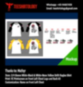 Fishing Cotton and Drifit Raglan Shirt Silkscreen Print with Custom Name