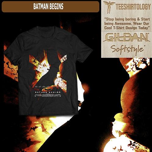 Batman Begins Movie T-Shirt