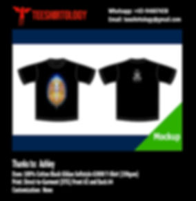 DTG Print of Black Gildan Softstyle 63000 Cotton T-Shirt