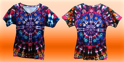 Dye sublimation v-neck ladies tee, all over print ladies v-neck t-shirt, no minimum quantity