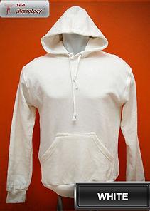 White Hooded Sweater, sweater hoodie putih