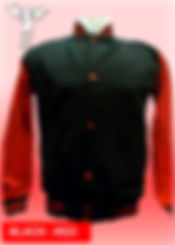 Digital Printing, Silkscreen Printing, Embroidery, Black Red Baseball Jacket, Black Red Fleece Varsity Jacket