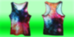 all over print racerback tanktop, sublimation racer back tanktop, no minimum quantity